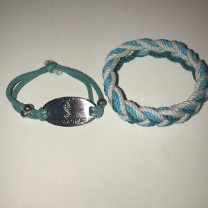 Jewelry - Two nautical bracelets